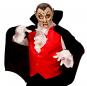 Máscara Vampiro Boca Abierta Halloween
