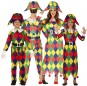 Grupo de Arlequines Multicolor