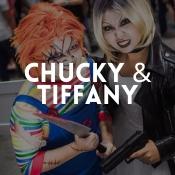 Tienda online de disfraces originales de Chucky y Tiffany