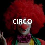 Catálogo de disfraces del circo para niños, niñas, hombres y mujeres