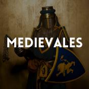 Catálogo de disfraces medievales para niños, niñas, hombres y mujeres