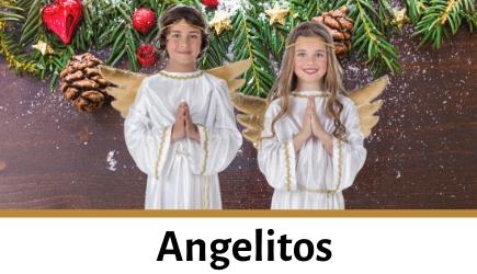 Compra disfraces de angelitos para niños y adultos