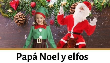 Compra disfraces de Papá Noel y sus ayudantes para niños y adultos