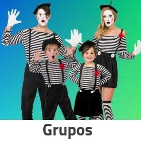 Disfraces para grupos y familias