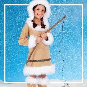 Compra online los disfraces de esquimales más originales de Carnaval