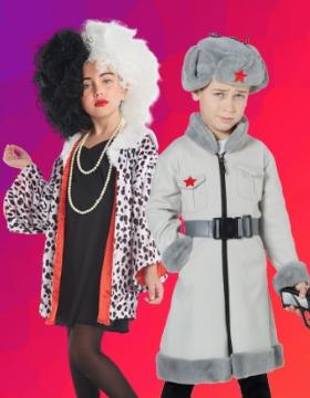 Disfraces para Carnaval de niños y niñas
