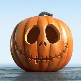 Calabazas de decoración para fiestas Halloween