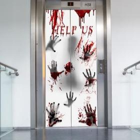 Cortinas y puertas de decoración para fiestas Halloween