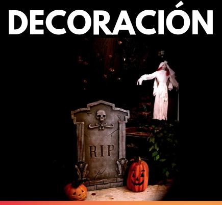 Tienda online de decoración para Halloween