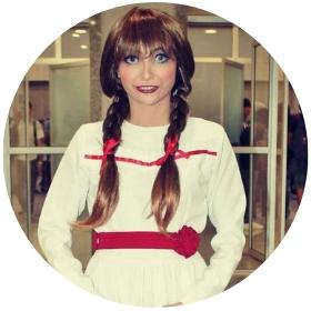 Tienda online de disfraces de la muñeca Annabelle