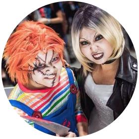Tienda online de disfraces del Chucky el muñeco diabólico