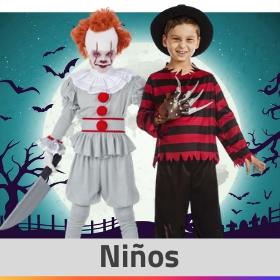 Tienda online de disfraces de Halloween para niño
