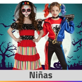 Tienda online de disfraces de Halloween para niña