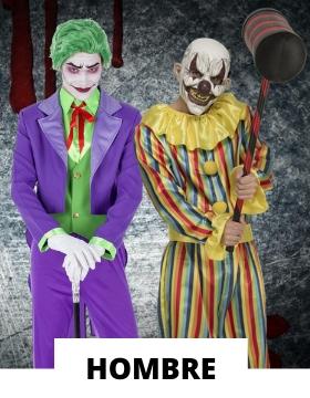 Disfraz de hombre para Halloween