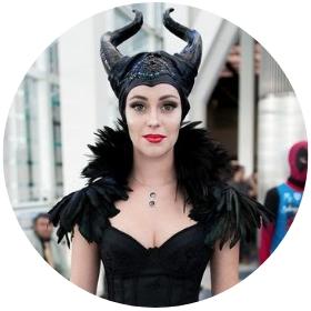 Tienda online de disfraces de villana Maléfica