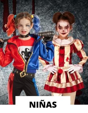 Disfraz de niña para Halloween