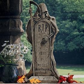 Lápidas de decoración para fiestas Halloween