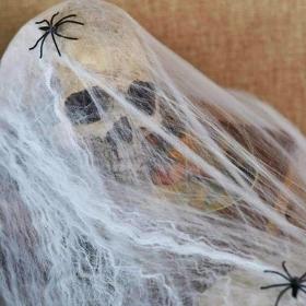 Telarañas de decoración para fiestas Halloween