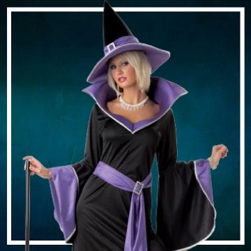 Compra online los disfraces de mujer para convertirte en bruja