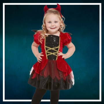 Compra online los disfraces Halloween de demonio bebé