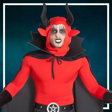 Compra online los disfraces de hombre para convertirte en demonio