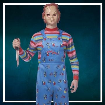 Compra online los disfraces Halloween de Chucky