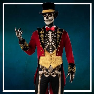 Compra online los disfraces Halloween de esqueletos