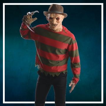 Compra online los disfraces Halloween de Freddy Krueger