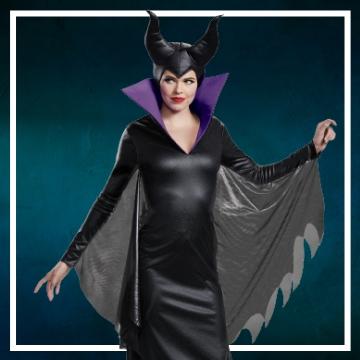 Compra online los trajes Halloween de Maléfica