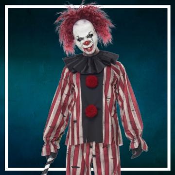 Compra online los disfraces Halloween de payasos diabólicos