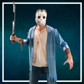 Compra online los disfraces Halloween de Jason Viernes 13