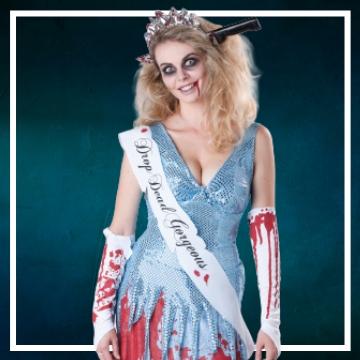 Compra online los trajes Halloween de zombie
