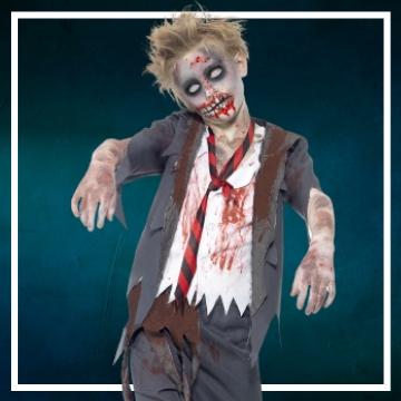 Compra online los disfraces Halloween de zombie infantiles