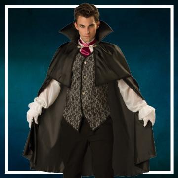 Compra online los disfraces de hombre para convertirte en Drácula