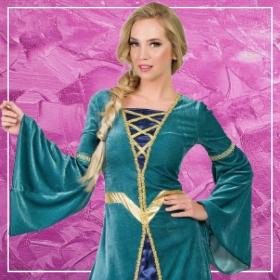 Compra online los disfraces medievales para mujeres más originales