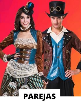 Ideas para disfrazarse en pareja con trajes originales de Carnaval para hombre y mujer