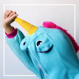 Trajes de Unicornio para Carnaval y Halloween