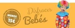 Disfraces baratos online para bebés