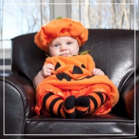 Catálogo de disfraces de Halloween de bebés