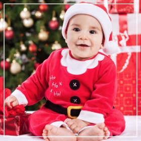 Compra online los disfraces de Navidad para bebés más originales