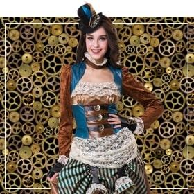 Steampunk Mujer