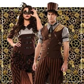 Parejas steampunk