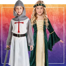 Disfraces medievales para fin de curso