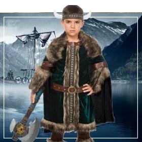 Vikingos de niño