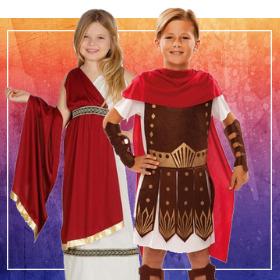 Disfraces romanos para fin de curso