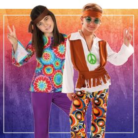 Disfraces hippies para fin de curso