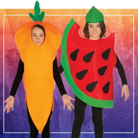 Disfraces de frutas para fin de curso