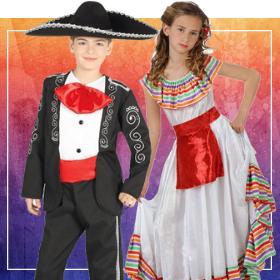 Disfraces mexicanos para fin de curso