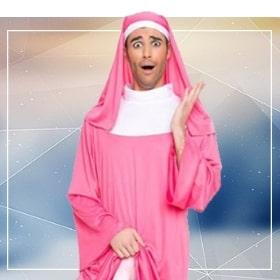 Disfraces religiosos para fiestas temáticas