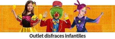 Disfraces rebajados para niños y niñas